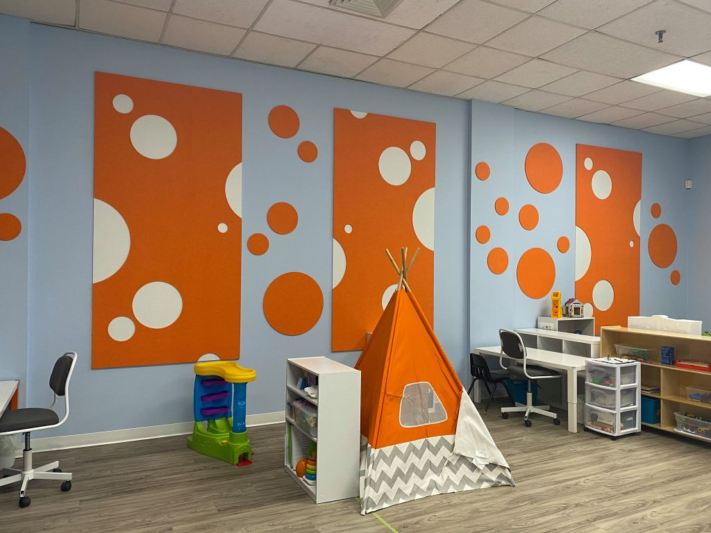 Sound Absorbing panels by Open Mind Interiors