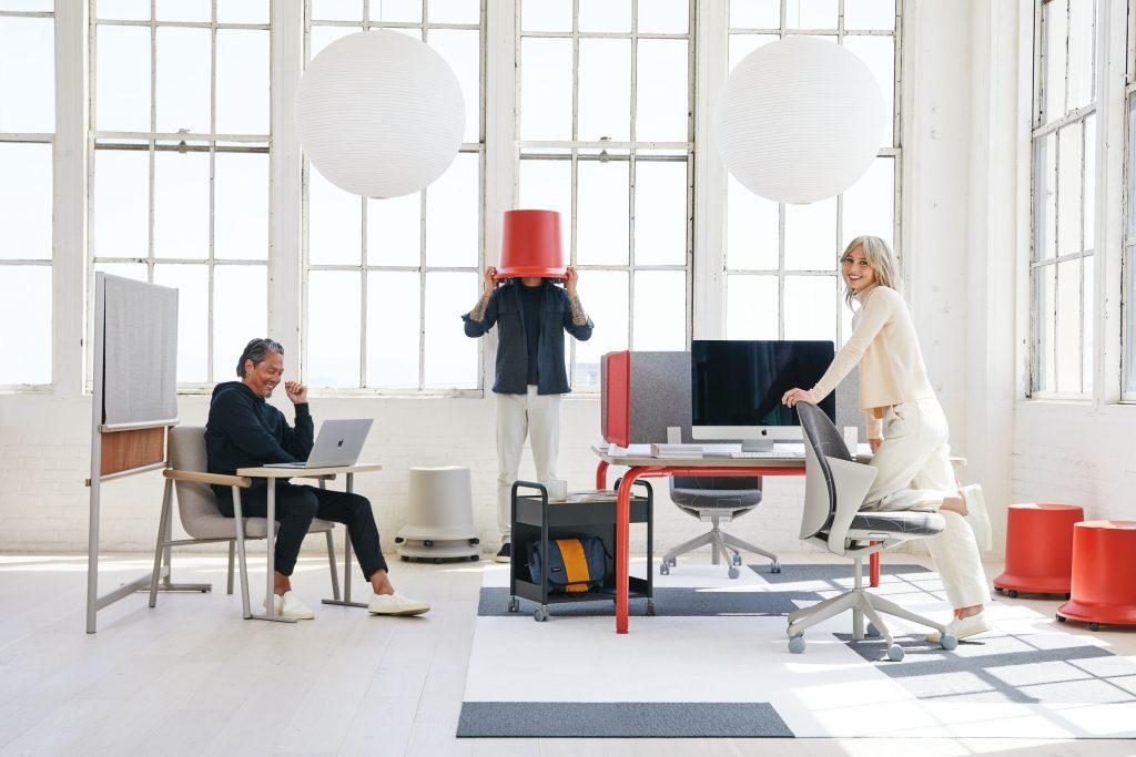 Teknion routes furniture